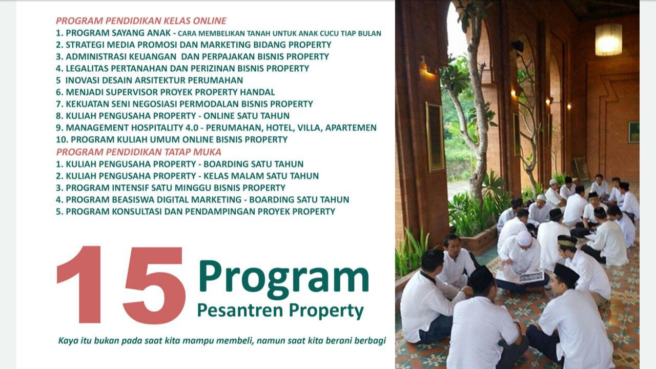 Program Pesantren Property